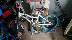Monster High Bike and Scooter