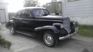 1938 OLDSMOBILE COUPE  trade for old school streetrod