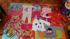 Vêtements de marques pour bébé filles