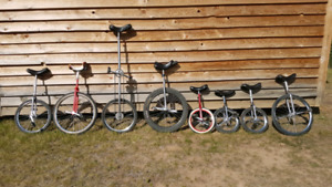 Unicycles - several options