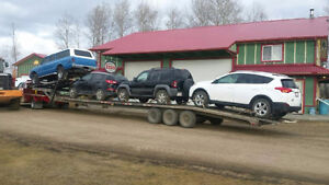AUTO TRANSPORT QC TO ALBERTA OR BC
