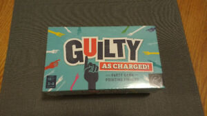 Guilty As Charged Party Game - 18+ - New, Sealed In Box