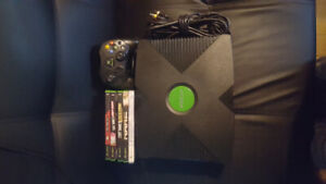 Original Xbox + 5 Games $40.00 O.bo  (Will remove ad when Sold)