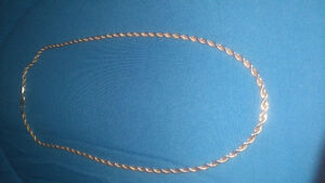 "22"".925 Silver Rope chain (22 Grams)"