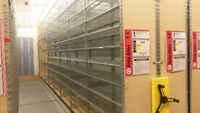 *PRICE REDUCED* MONTEL MOBILE RACKING ON TRACK SYSTEM