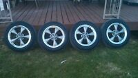 mustang Bullit Rims and Tires