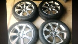 4 infiniti rims and tires