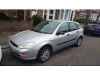 1.4 FORD FOCUS FOR SALE WITH MOT AND TAX QUICK SALE