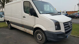 Volkswagen Crafter 2.5TDi ( 136PS ) CR35 MWB low roof 2008 model