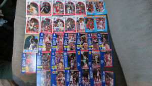 1989-91 NBA All-Star, League Leaders,slam dunk cards(36)