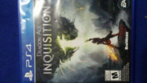 Ps4 game for sale Dragon Age Inquisition