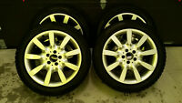 Original Mercedes Benz S series Rims&Winter Tires