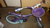 Almost brand new nice 20-inch bike for girls
