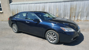 2007 Lexus es350 luxury with navigation