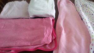 Baby Girl Blanket Lot