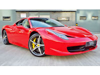 2012 Ferrari 458 V8 Italia Big Spec A Must See! Rosso Corsa Stand Out Example!