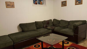 One bedroom in ground basement for rent