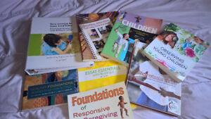 Assorted ECE textbooks