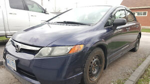 2007 Honda Civic Dx-G Sedan