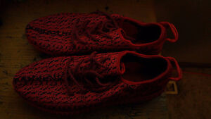 YZY BOOST RED