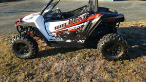 2015  700 Wildcat Sport Limited ONlY 1257 km
