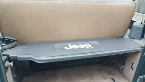 Jeep TJ trunk security box.
