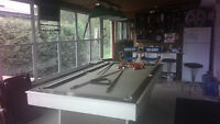 Brunswick pool table wood for sale