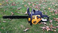 20 inch chainsaw - Poulan Pro 50 cc - new condition