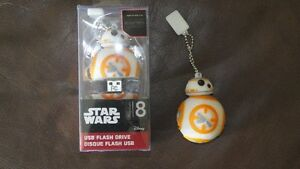 Star Wars 8gb USB Flash Drive BB8
