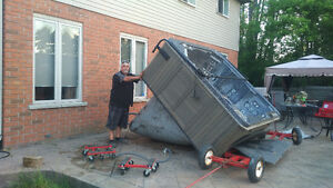 HOT TUB MOVES & REMOVAL - 28 YEARS EXPERIENCE - CALL THE EXPERTS