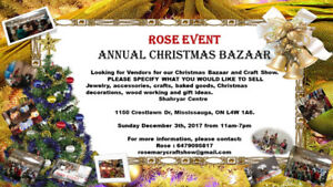 Christmas Craft Show Vendors Wanted | Find or Post Local Events in ...