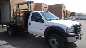 2007 Ford F-550 Flatbed deisel Truck