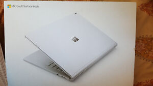 "Microsoft Surface Book 13.5"" (new sealed box)"