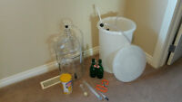 Beer Brewing Supplies - includes beer kit