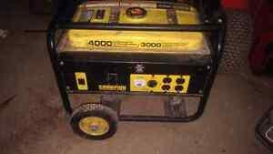 Champion wheeled 3000 watt Generator