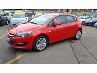 Vauxhall Astra 1.7CDTI 16V ECOFLEX ENERGY 110PS (red) 2013
