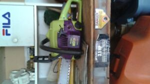 Poulin Chainsaw and two other chainsaws for parts