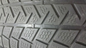 2 Winter Tires Michelin Size 225 65 17