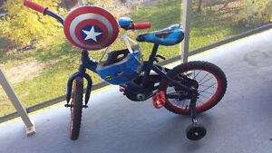 "Boys 16"" Captain America Bike Windsor Region Ontario image 1"