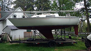 C&C-24, trailer, clean, great condition