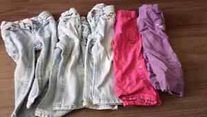 5 2T girls pants