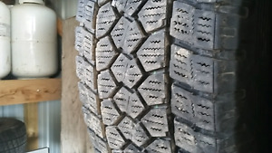 285/70r17 10ply m+s winter tires.