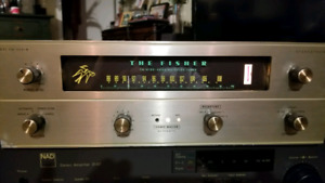 The fisher fm-200b tube tuner