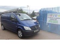 2011 MERCEDES BENZ VITO 116CDI Very Rare Clean Example Warranty AA Cover No Vat