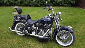 RARE HARLEY 98 HERITAGE SPRINGER LIKE NEW WITH 111 CU/IN ENGINE