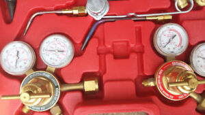 Welding torch kit and bottles
