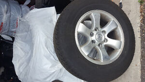 P265/65r17 tires on stock Toyota rims