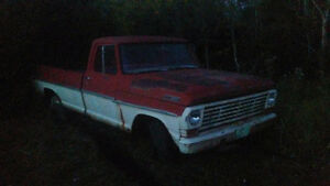 Parting out 1967 ford half ton