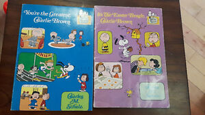 Charlie Brown- 2 Scholastic books