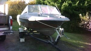 swap for inflatable or aluminum boat